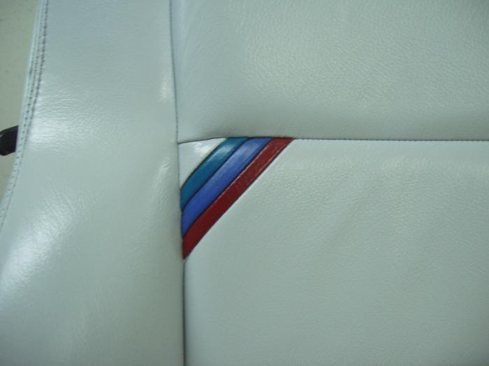 Detalle color asiento conductor
